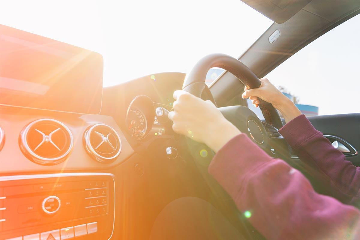 車内にも紫外線は降り注ぐ