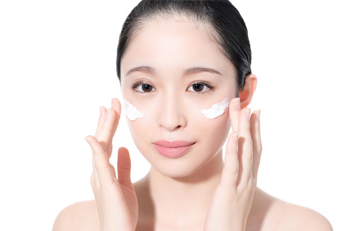 日中用乳液で保湿とUV対策