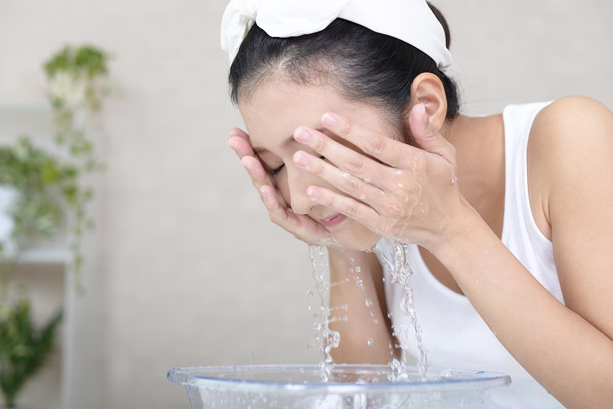 時短洗顔のコツ