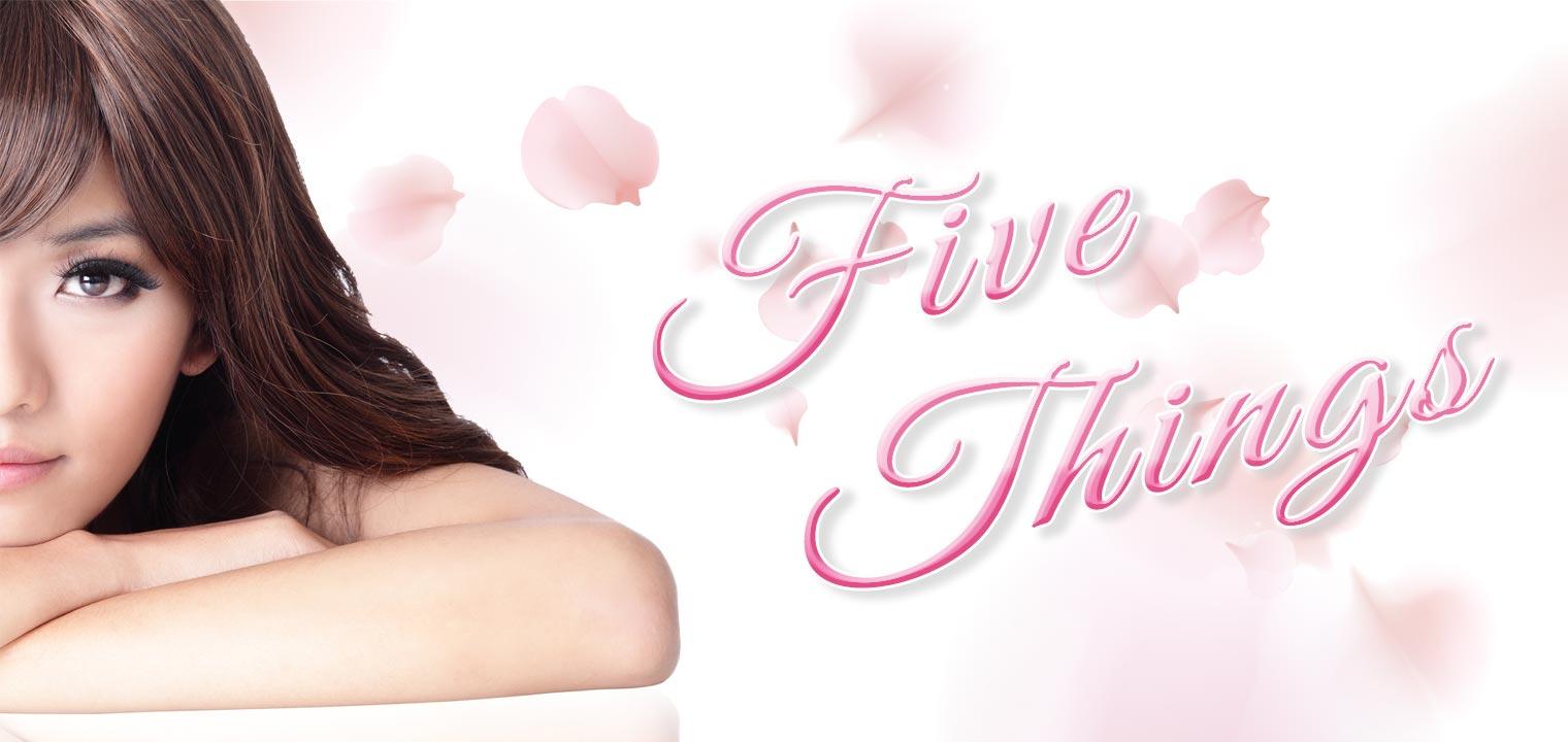 美意識を高めよう!きれいな女性が実践している5つのコト